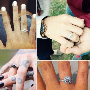 engagement ring alternative designs
